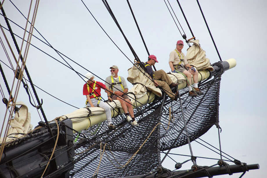 Climb aboard the tall ship Friendship at the Salem Maritime National Historic Site. (Photo courtesy Destination Salem)