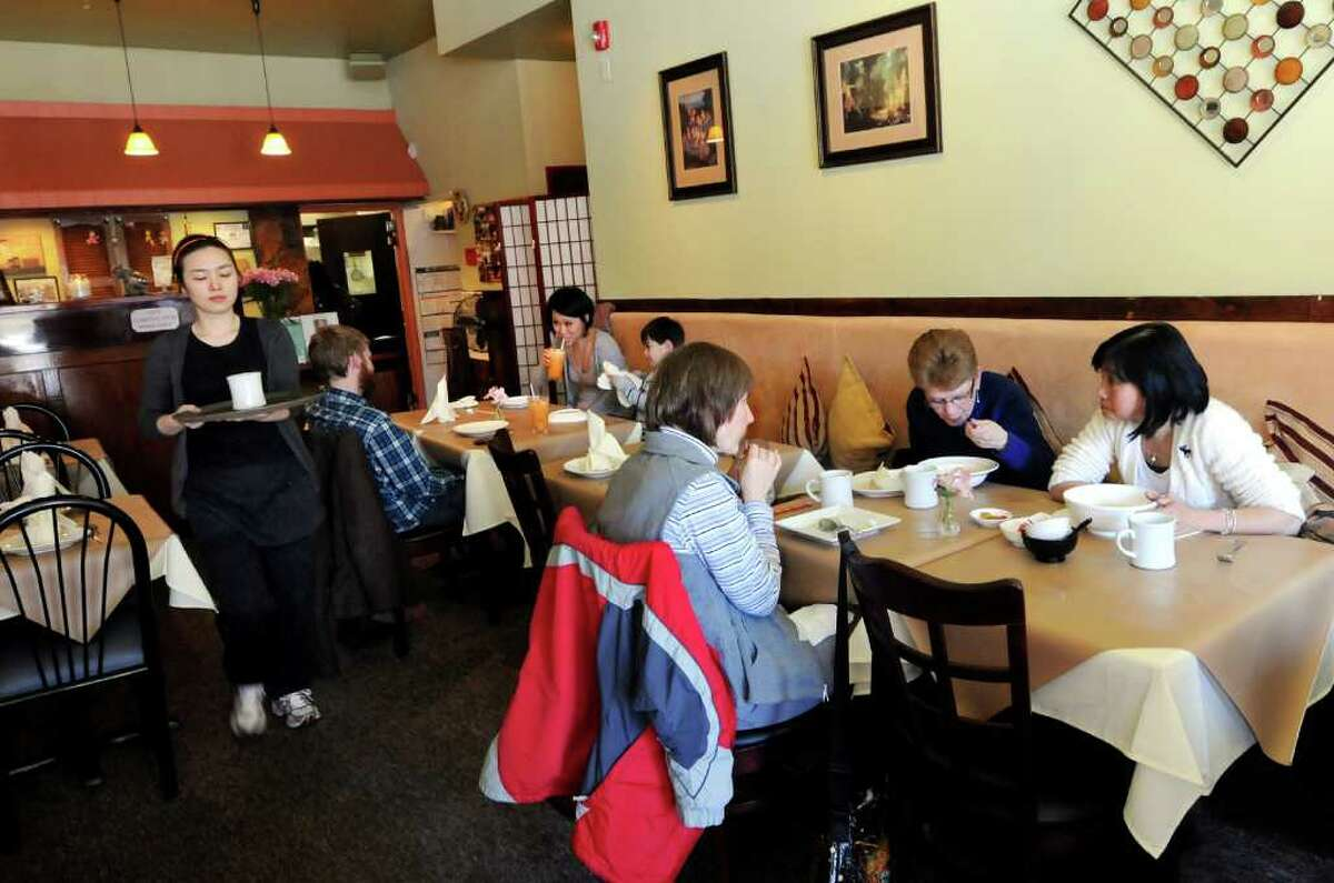 Kinnaree Asian Restaurant on Wednesday, March 28, 2012, in Albany, N.Y. (Cindy Schultz / Times Union)