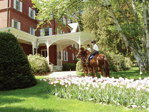 The Marsh-Billings National Park, historical mansion of America's greatest conservationists, George Perkins Marsh and Frederick Billings. (Photo courtesy Woodstock Vermont Chamber of Commerce)