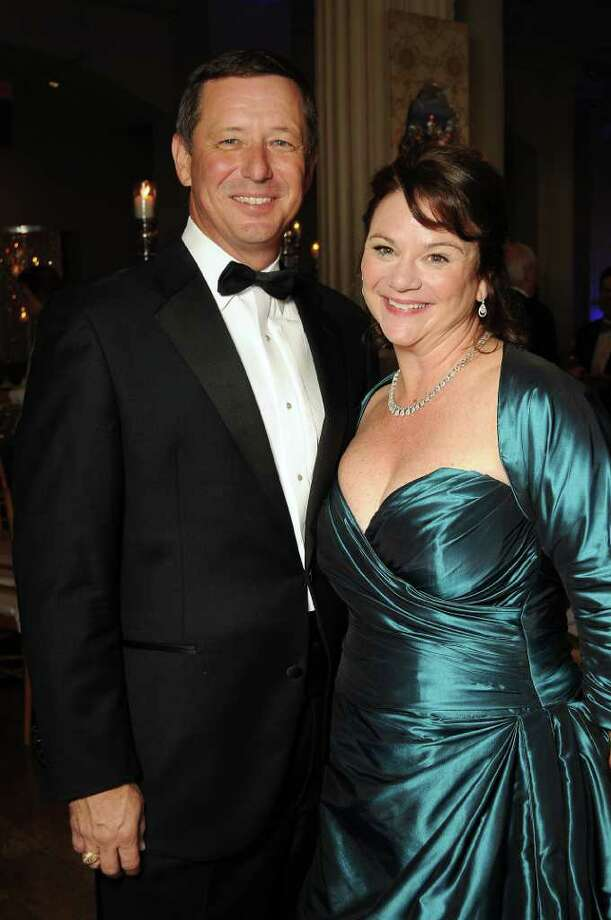 """Kudos to chairs David and Tara Wuthrich for ramping up the excitement and raising $1 million for youth programs with Houston Symphony's """"Rock Me Amadeus"""" ball. Photo: Dave Rossman / © 2012 Dave Rossman"""