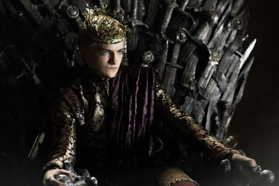 Joffrey Baratheon (Jack Gleeson): The mewling psychopath was saved by his uncle from Stannis Baratheon's assault, meaning TV's most hateable character is back with a new crossbow and more time as king. Photo: HBO