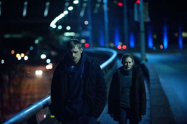 Stephen Holder (Joel Kinnaman) and Sarah Linden (Mireille Enos) - The Killing - Season 2, Episode 3 Photo: Carole Segal, AMC