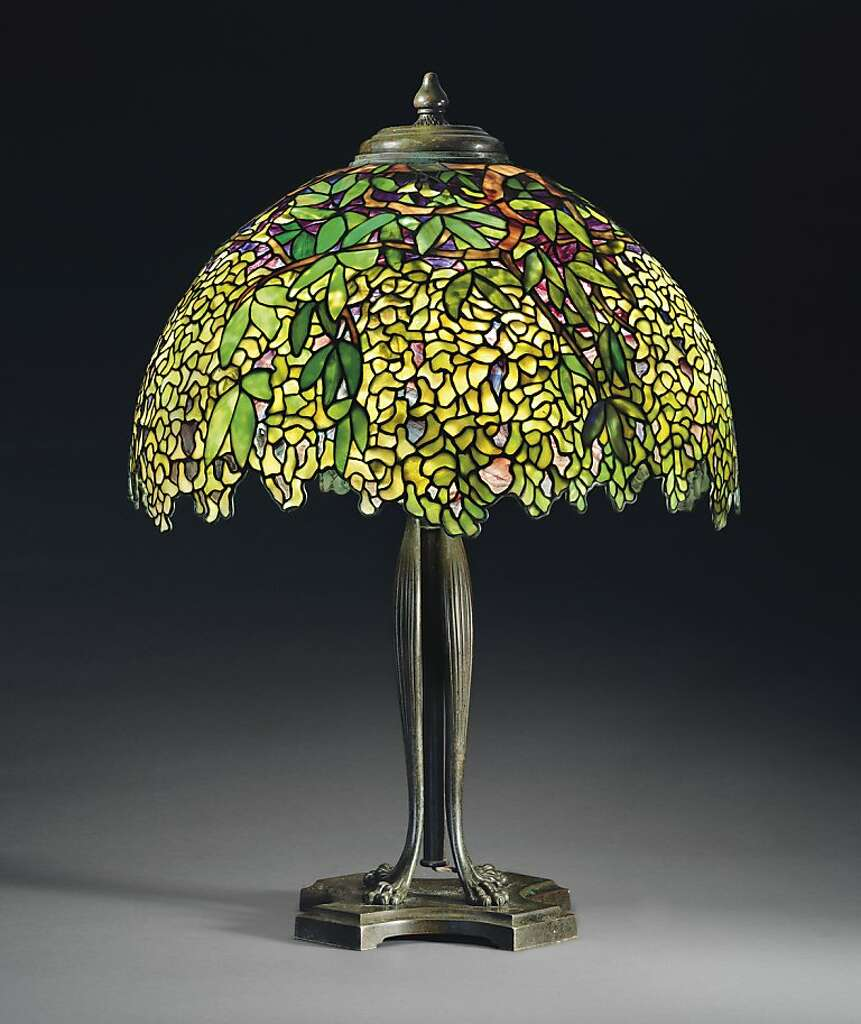 Tiffany lamps from SF pub head to auction - SFGate
