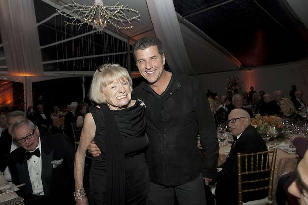 Margrit Mondavi with Chef Michael Chiarello at the Mondavi Center Gala. March 2012. By TK. Photo: Tk, Special To The Chronicle