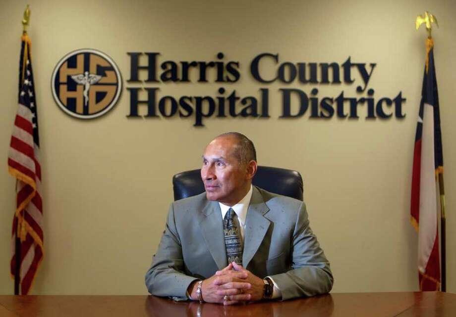 "David Lopez, head of the Harris County Hospital District, says ""public health feeds your soul."" Photo: Cody Duty / © 2011 Houston Chronicle"
