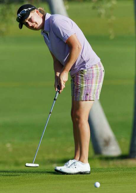 Australia's Lindsey Wright shot a 5-under 67 in the first round of the Kraft Nabisco Championship. Photo: AP