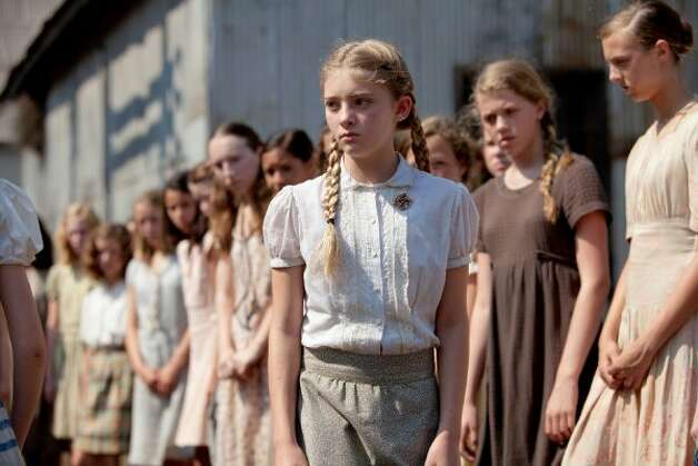Willow Shields stars as 'Primrose Everdeen' in THE HUNGER GAMES. (Murray Close/courtesy via Lionsgate)
