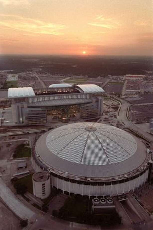 Houston does have the Astrodome, the eighth wonder of the world,  and Reliant Park.
