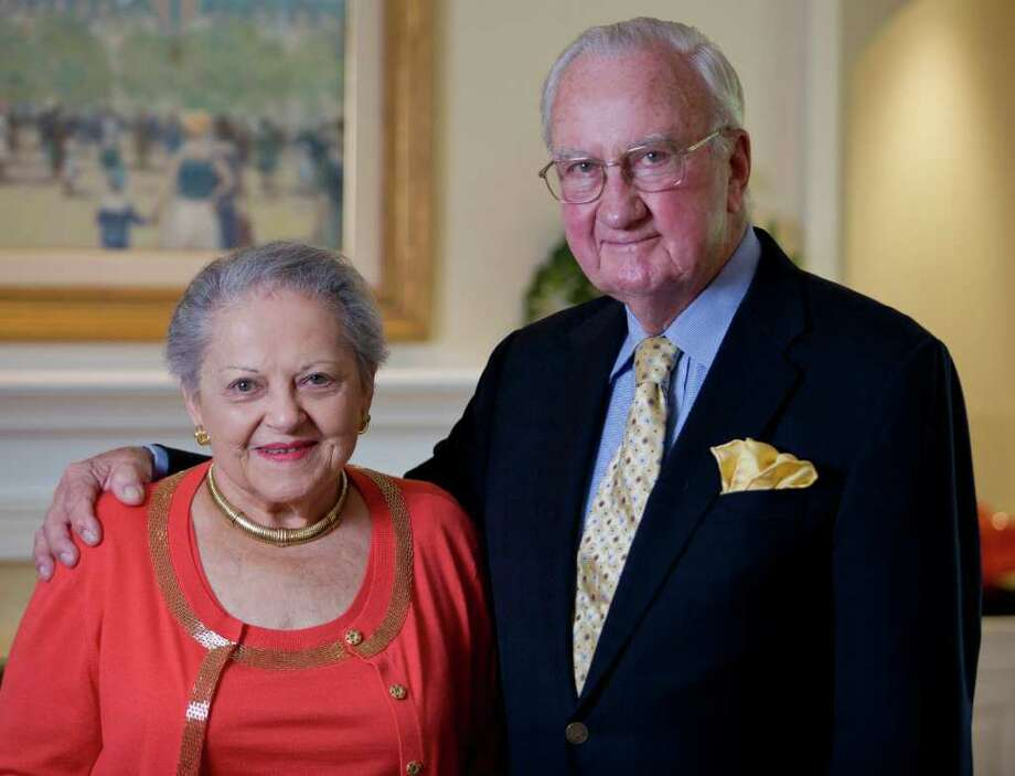 New Canaan residents Lois and Harlan Anderson will be honored for their commitment to the community and to the work of Visiting Nurse & Hospice of Fairfield County at the organization's 100th anniversary celebration. Photo courtesy of Bruce Ando Photo: Contributed Photo