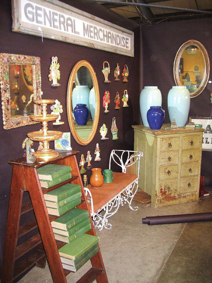 The Rhinebeck Antiques Fair draws 150 to 200 dealers from as far away as Michigan. They take over four buildings on the Dutchess County Fairgrounds three weekends per year. (Photo courtesy Rhinebeck Antiques Fair)