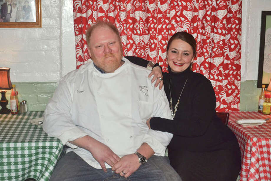 Jasper and Beth Alexander, owners of Hattie's Restaurant in Saratoga. (Photo by Colleen Ingerto/Explore)