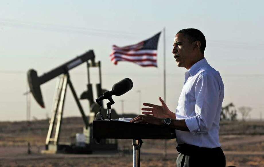 A reader says President Barack Obama has indulged in anti-fossil fuels energy policy while taking credit for a pipeline that had already been approved. Photo: Associated Press