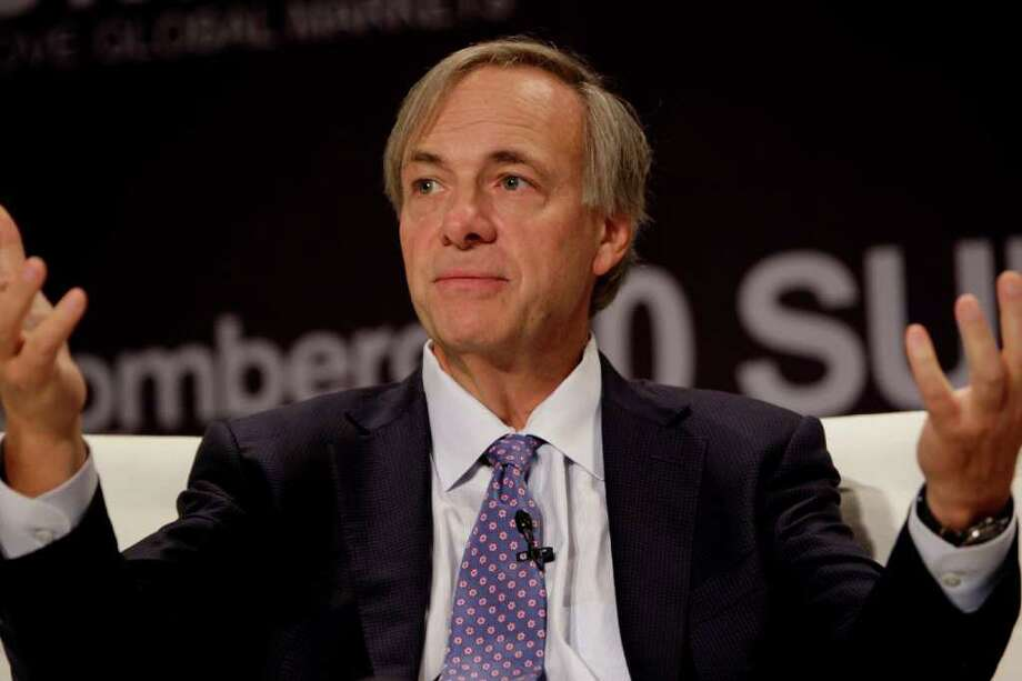 "Raymond ""Ray"" Dalio, president and founder of Bridgewater Associates LP. Dalio earned an estimated $3.9 billion last year despite losses at other hedge funds, according to AR Magazine. Photo: Bloomberg Photo: Scott Eells, Bloomberg / © 2011 Bloomberg Finance LP"