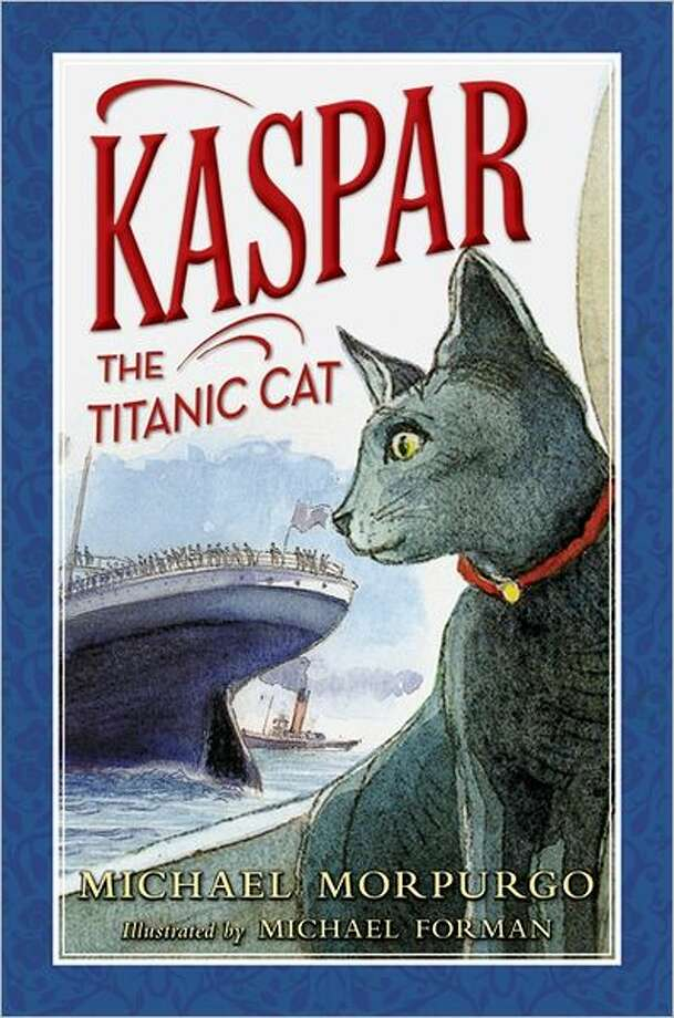 """Kaspar the Titanic Cat"" Photo: HarperCollins"