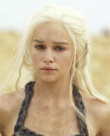 GAME OF THRONES episode 13 (season 2, episode 3): Emilia Clarke. photo: Paul Schiraldi / HBO