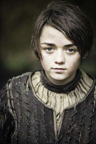 GAME OF THRONES episode 12 (season 2, episode 2): Maisie Williams. photo: Helen Sloan / HBO