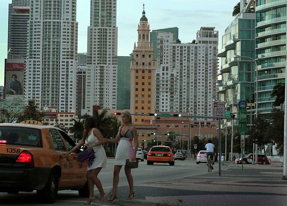 7. Miami-Fort Lauderdale, FLHeat index: 92.0 Photo: Joe Raedle, Getty Images