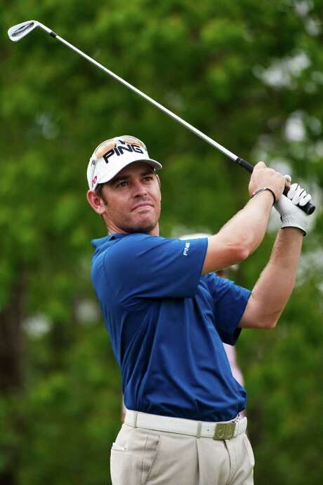 Louis Oosthuizen is 11 under for a share of the Houston Open lead. Photo: AP