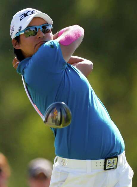 Yani Tseng leads the Kraft Nabisco Championship at 8 under. Photo: AP