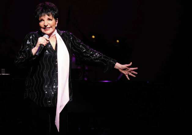 Liza Minnelli performs at the Palace Theatre in Stamford during the Palace Theatre Gala on March 30, 2012. Photo: Lindsay Niegelberg / Stamford Advocate