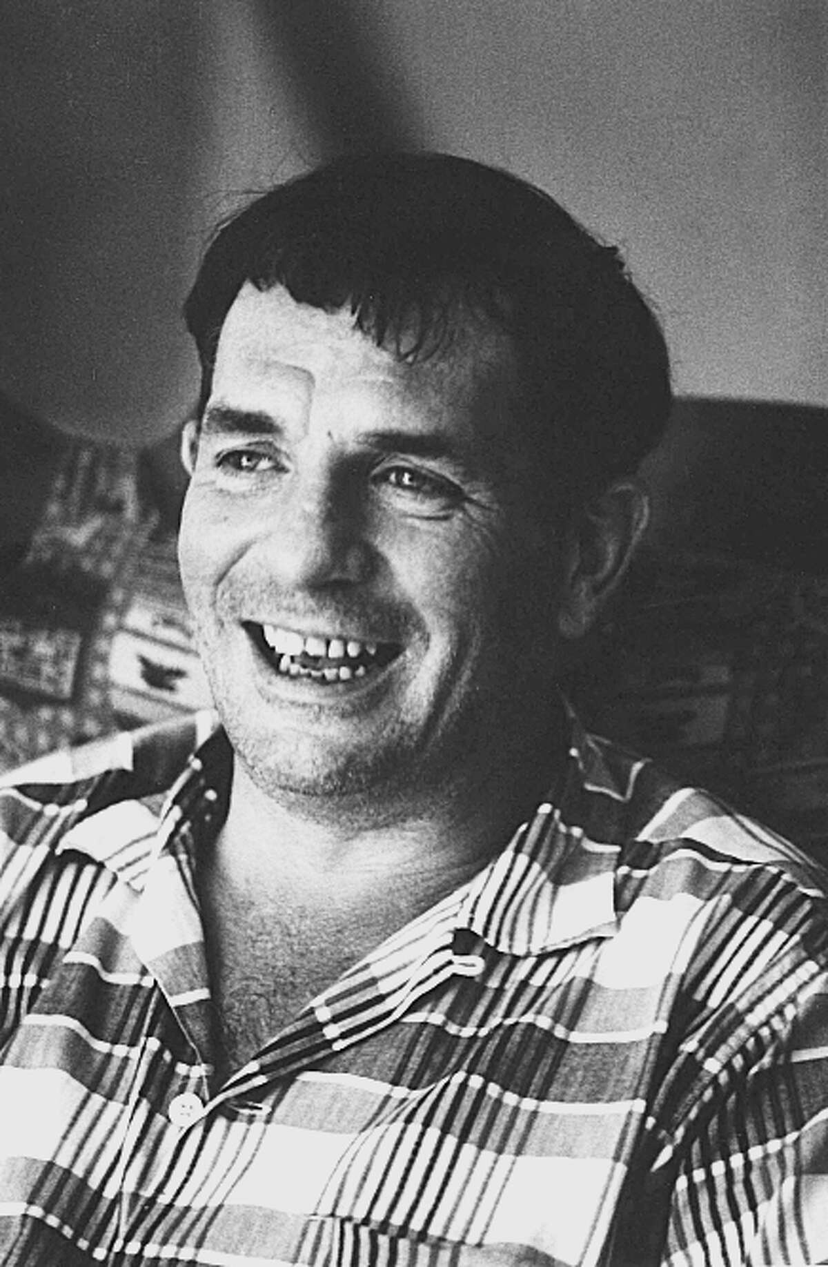 Author Jack Kerouac is seen in Lowell, Mass., in 1967.