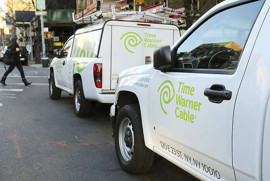 Time Warner Cable shares are up 45 percent this year, but took a 6.4 percent hit on Monday. Photo: Jonathan Fickies, Bloomberg