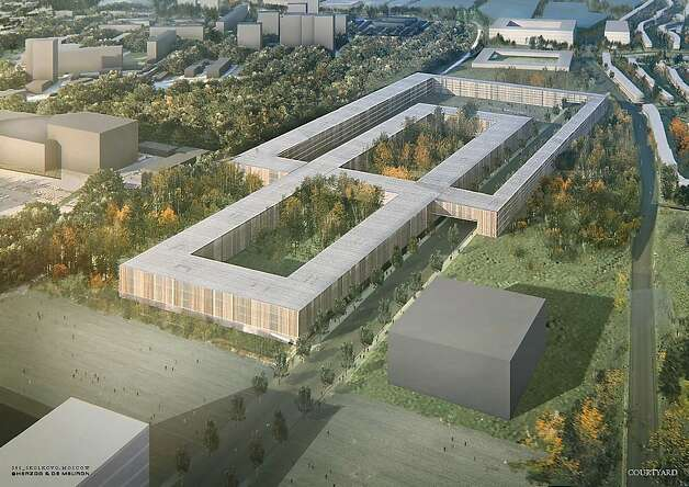 Russia is building the Skolkovo Innovation Center, a city and innovation hub designed to rival Silicon Valley, outside Moscow, as shown in this architectural rendering. Photo: Skolkovo Innovation Center