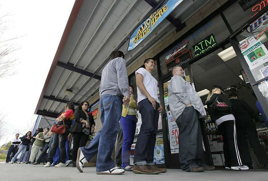 Can lightning strike twice in the same place? These Bay Area retailers had sold at least two winning lottery tickets as of 2013. Some draw long lines of superstitious shoppers ahead of big jackpots.  Photo: Paul Sakuma, Associated Press