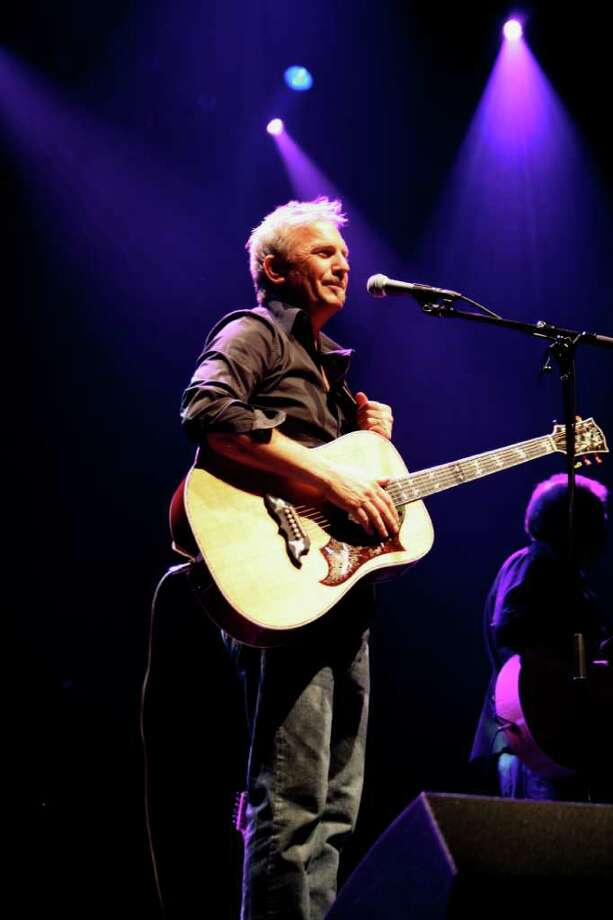 Kevin Costner will bring his band, Modern West, to the Ridgefield Playhouse April 10 at 8 p.m. Photo: Contributed Photo
