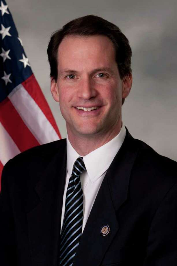 In this 2012 photograph provided by the candidates campaign,Jim Himes poses for a photo. Jim Himes is running for the Senate in Connecticut. (AP Photo) Photo: Associated Press / ELNPV AP