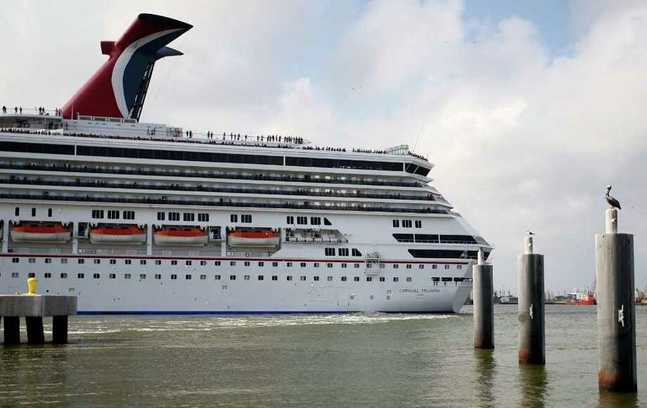 Carnival's Triumph in Galveston was briefly impounded, snagged in an Italian ship disaster fight. Photo: Karen Warren / © 2012  Houston Chronicle
