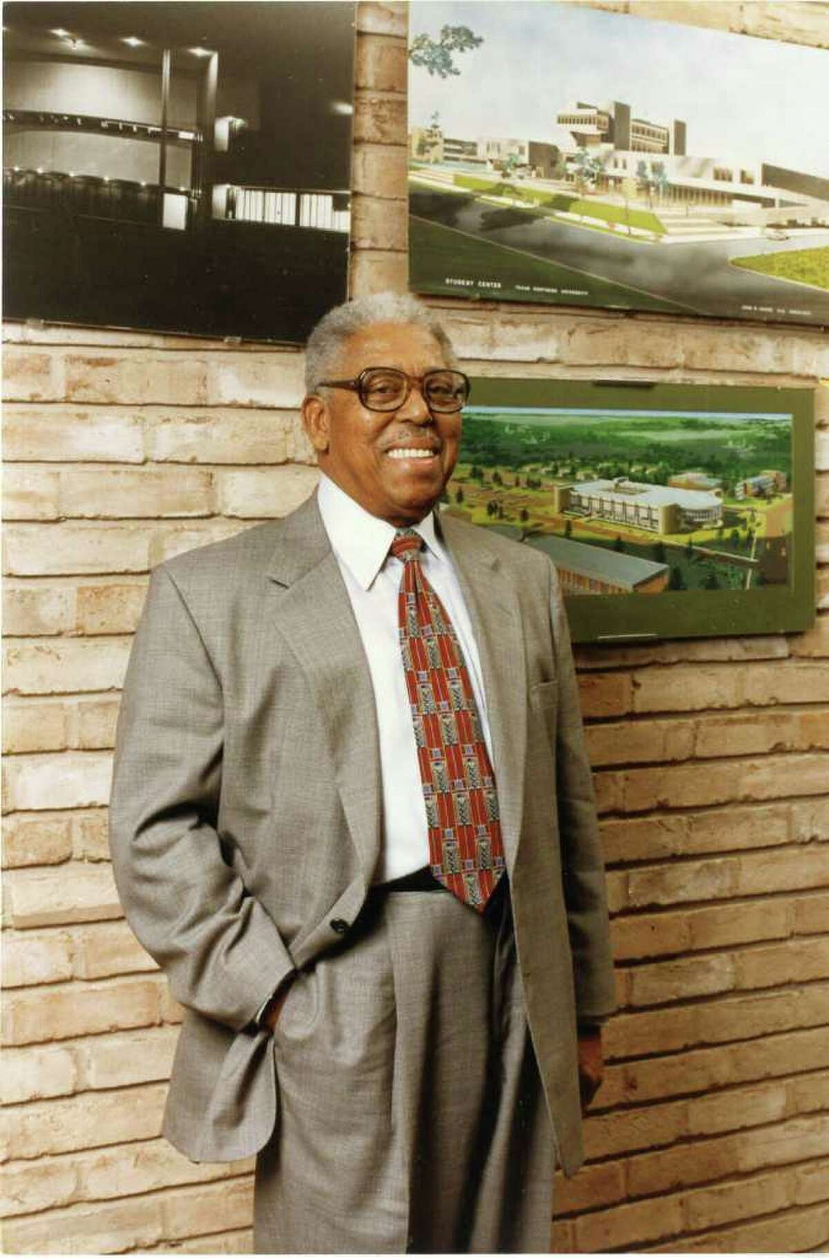 John S. Chase, seen in 1998, was the first licensed black architect in Texas and a political power broker.