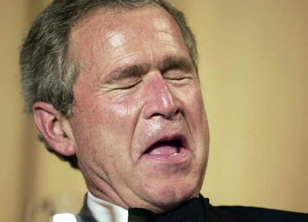 In the face of all this evil, we remain by George W Bush ...