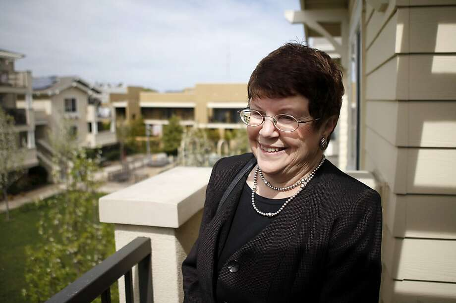 Mary Murtagh has been the leading role in developing San Rafael's EAH housing for over 25 years. She has helped develop affordable housing in California and Hawaii. Photo: Sean Culligan, The Chronicle