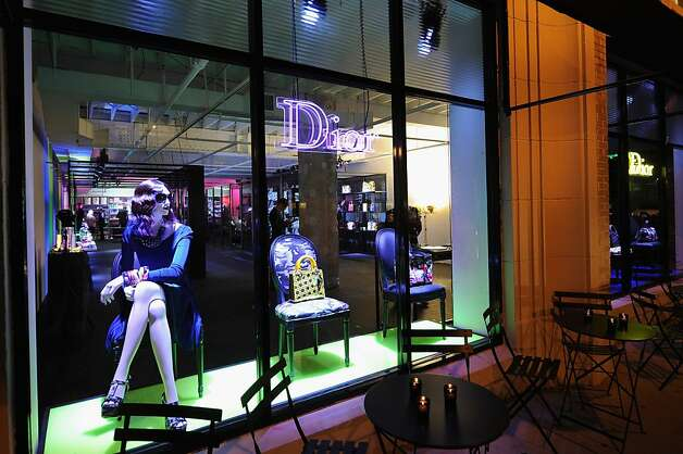 The Dior pop-up shop featuring Anselm Reyle for Dior at Miami Design District on November 29, 2011 in Miami City. (Photo by Dimitrios Kambouris/Getty Images for Dior) Photo: Dimitrios Kambouris, Getty Images For Dior