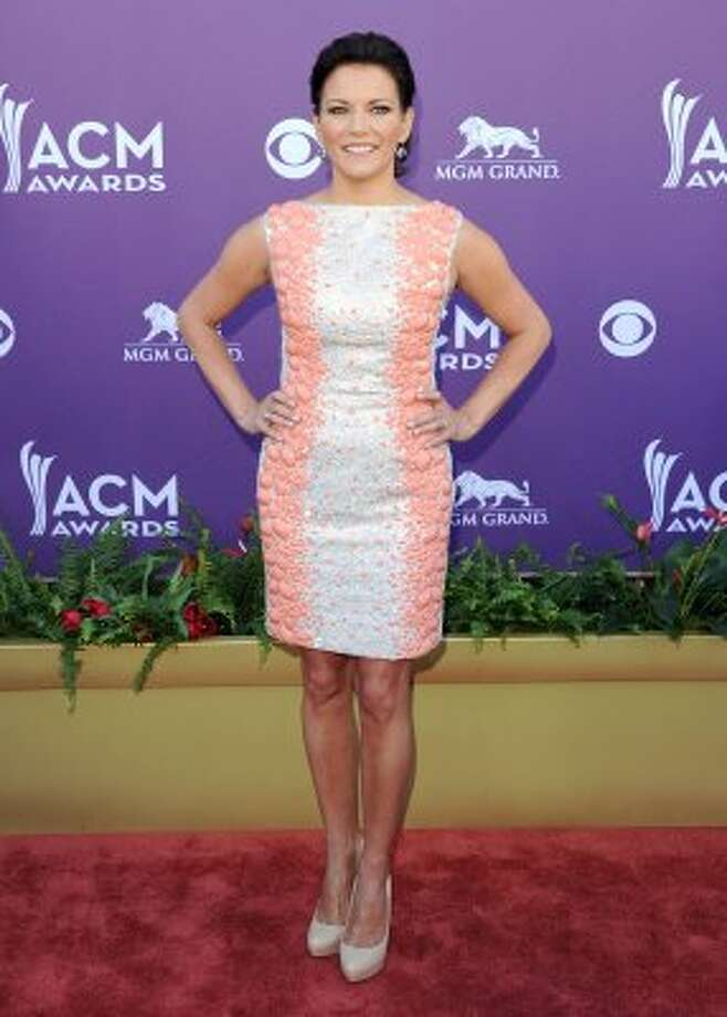 LAS VEGAS, NV - APRIL 01:  Singer Martina McBride arrives at the 47th Annual Academy Of Country Music Awards held at the MGM Grand Garden Arena on April 1, 2012 in Las Vegas, Nevada.  (Photo by Jason Merritt/Getty Images) (Jason Merritt / Getty Images)