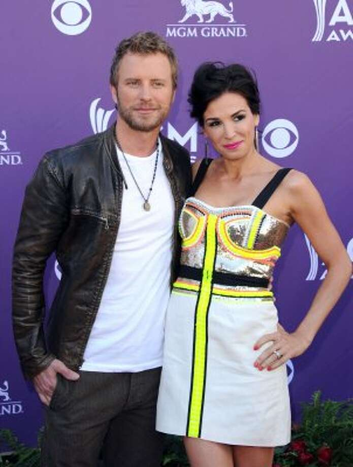 LAS VEGAS, NV - APRIL 01:  Musician Dierks Bentley (L) and Cassidy Black arrive at the 47th Annual Academy Of Country Music Awards held at the MGM Grand Garden Arena on April 1, 2012 in Las Vegas, Nevada.  (Photo by Jason Merritt/Getty Images) (Jason Merritt / Getty Images)