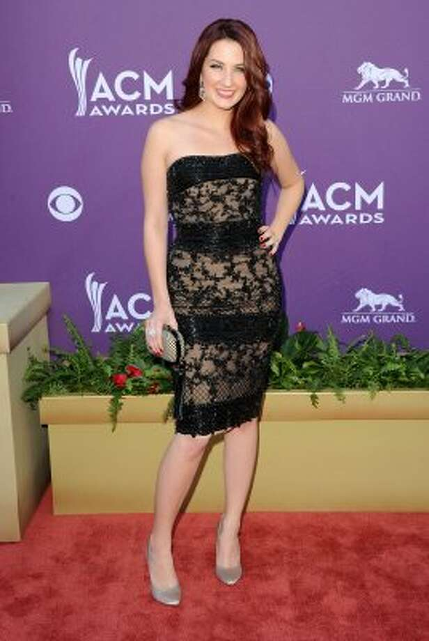 LAS VEGAS, NV - APRIL 01:  Singer Katie Armiger arrives at the 47th Annual Academy Of Country Music Awards held at the MGM Grand Garden Arena on April 1, 2012 in Las Vegas, Nevada.  (Photo by Jason Merritt/Getty Images) (Jason Merritt / Getty Images)