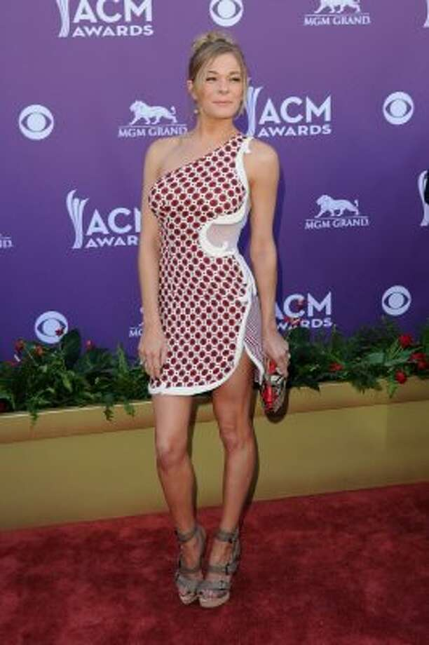 LAS VEGAS, NV - APRIL 01:  Singer LeAnn Rimes arrives at the 47th Annual Academy Of Country Music Awards held at the MGM Grand Garden Arena on April 1, 2012 in Las Vegas, Nevada.  (Photo by Jason Merritt/Getty Images) (Jason Merritt / Getty Images)