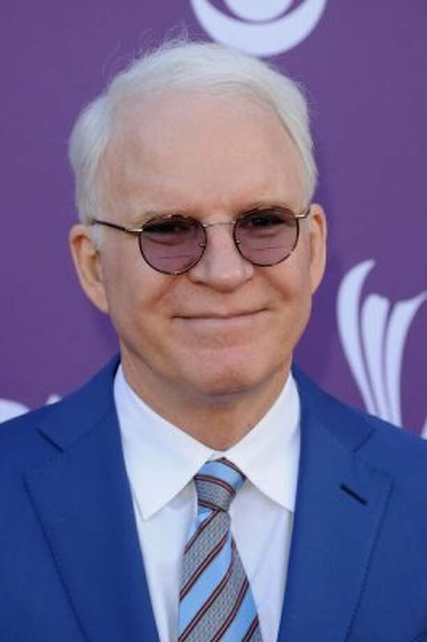 LAS VEGAS, NV - APRIL 01:  Actor/musician Steve Martin arrives at the 47th Annual Academy Of Country Music Awards held at the MGM Grand Garden Arena on April 1, 2012 in Las Vegas, Nevada.  (Photo by Jason Merritt/Getty Images) (Jason Merritt / Getty Images)