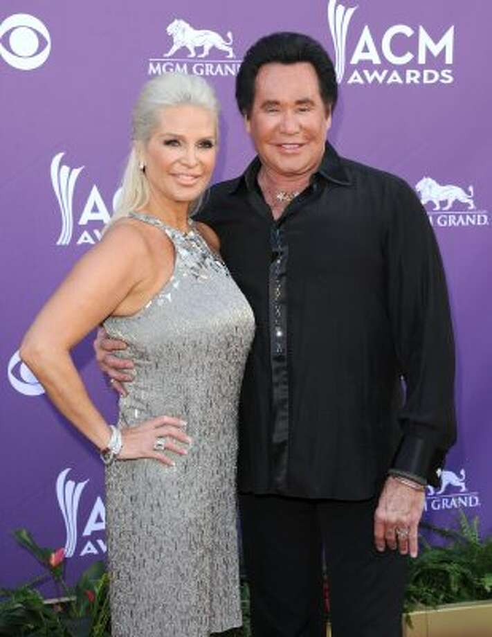 LAS VEGAS, NV - APRIL 01:  (L-R) Kathleen McCrone and singer Wayne Newton arrive at the 47th Annual Academy Of Country Music Awards held at the MGM Grand Garden Arena on April 1, 2012 in Las Vegas, Nevada.  (Photo by Jason Merritt/Getty Images) (Jason Merritt / Getty Images)