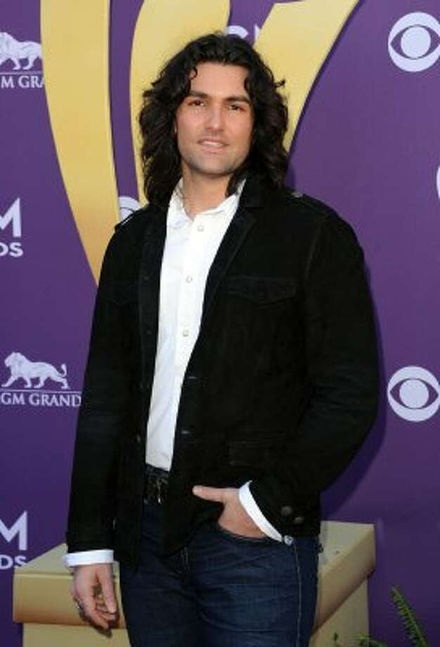LAS VEGAS, NV - APRIL 01:  Musician Andy Gibson arrives at the 47th Annual Academy Of Country Music Awards held at the MGM Grand Garden Arena on April 1, 2012 in Las Vegas, Nevada.  (Photo by Jason Merritt/Getty Images) (Jason Merritt / Getty Images)
