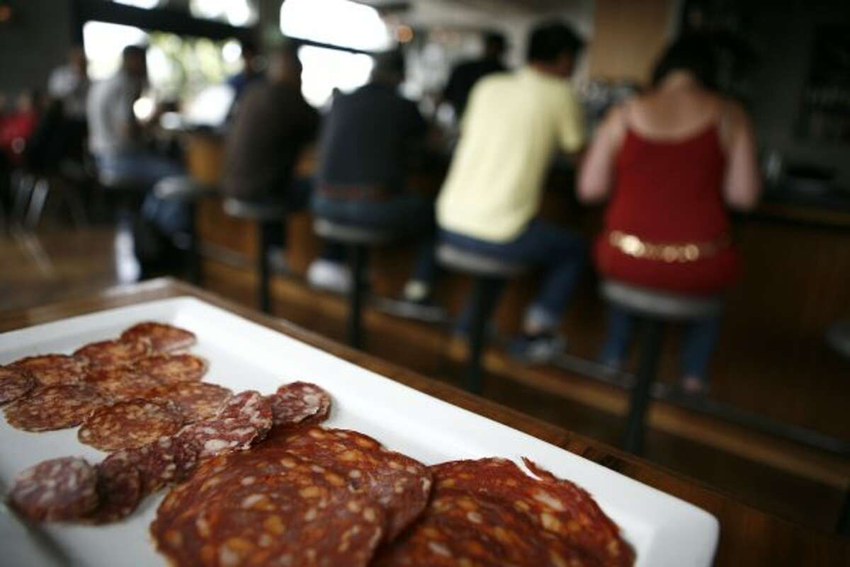 Some of its salumi is available for retail. Also, arguably the best happy hour in town. (John Sebastian Russo / The Chronicle)