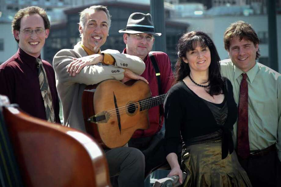 The Hot Club of San Francisco, an ensemble of accomplished and versatile musicians, celebrate the timeless music of Django Reinhardt and Stephane Grappelli. Photo: Contributed Photo