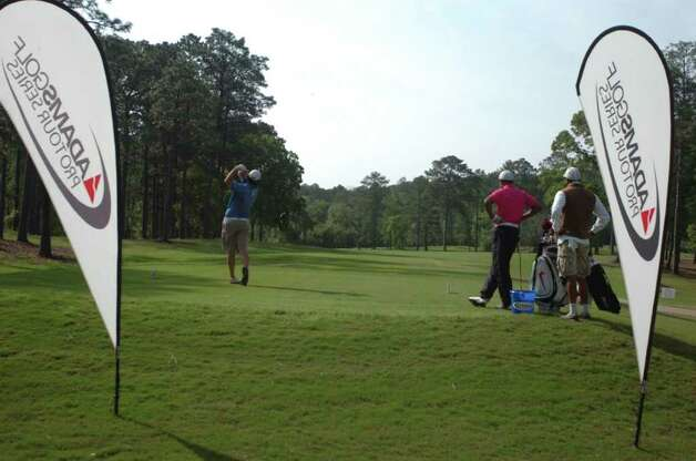 The Adams Golf Pro Tour Series held its inaugural Rayburn Open last week at the Rayburn Country Club. Photo: Jimmy Galvan