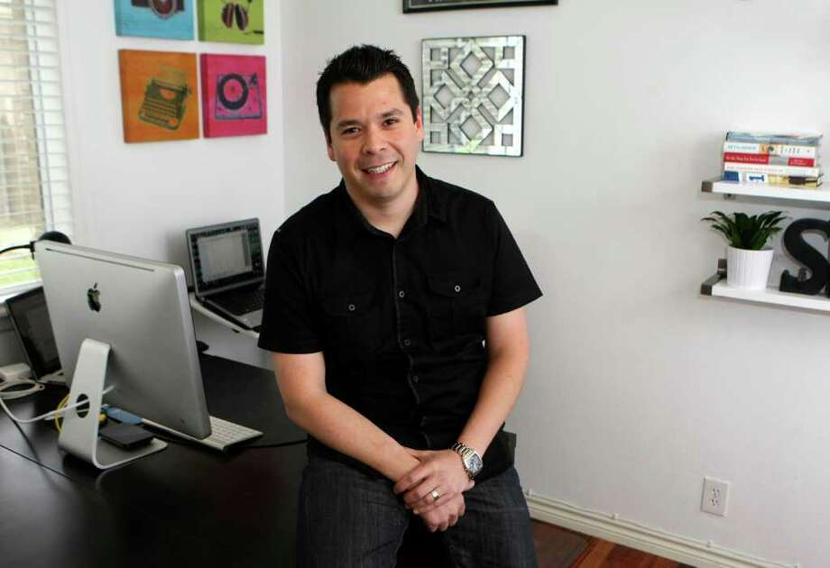 CONEXION:  Paul Salinas is the owner of MapTack Local marketing.  After working at Rackspace for several years with some of the top technology companies around the world he decided to to venture out on his own and in early 2010 Map Tack Local was founded.  Helen L. Montoya/Conexion Photo: HELEN L. MONTOYA, San Antonio Express-News / ©SAN ANTONIO EXPRESS-NEWS