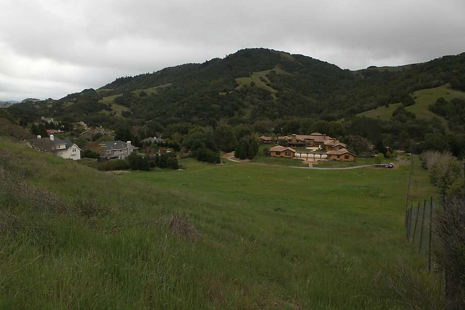 George Lucas hopes to build a 263,000-square-foot digital media production compound on Grady Ranch in San Rafael, Calif. Photo: Liz Hafalia, The Chronicle