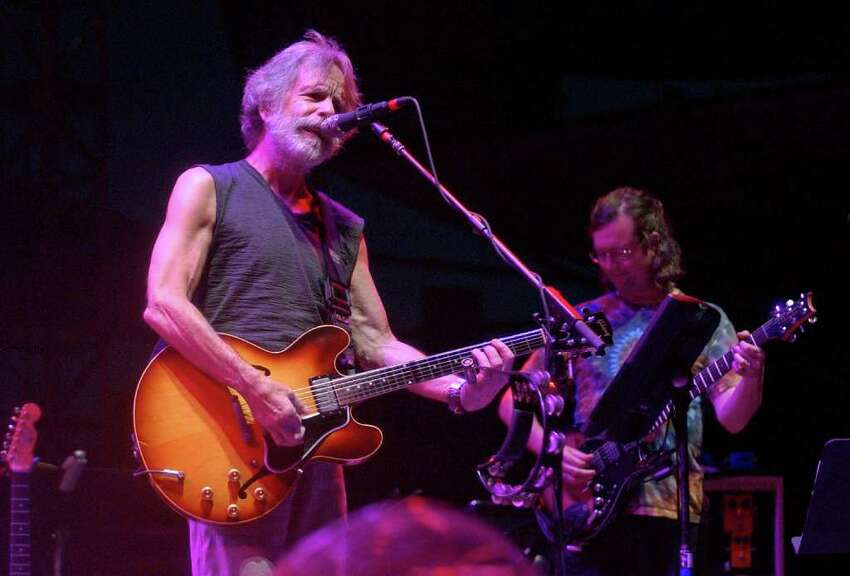 Bob Weir performs with Furthur at last year's Gathering of the Vibes at Seaside Park in Bridgeport. Weir will return to the festival this year, where he will perform with Bruce Hornsby.