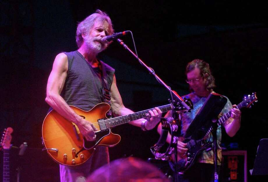 Bob Weir performs with Furthur at last year's Gathering of the Vibes at Seaside Park in Bridgeport. Weir will return to the festival this year, where he will perform with Bruce Hornsby. Photo: Christian Abraham, ST / Connecticut Post Staff