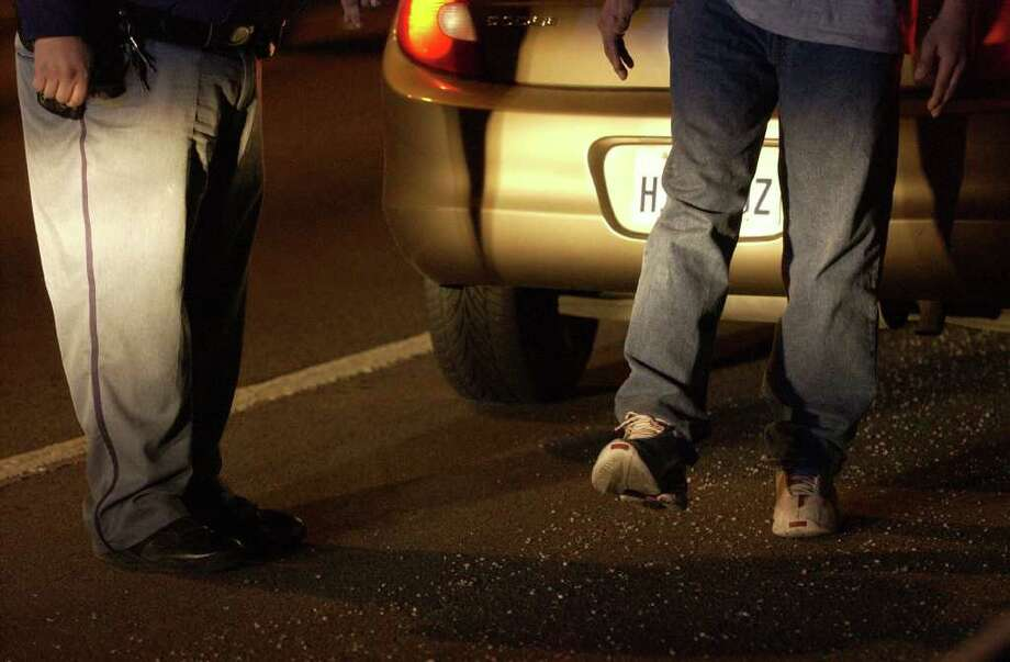 Last year, according to SAPD, almost 2,000 crashes and 49 deaths were related to people driving while intoxicated. Photo: WILLIAM LUTHER, SAN ANTONIO EXPRESS-NEWS / SAN ANTONIO EXPRESS-NEWS